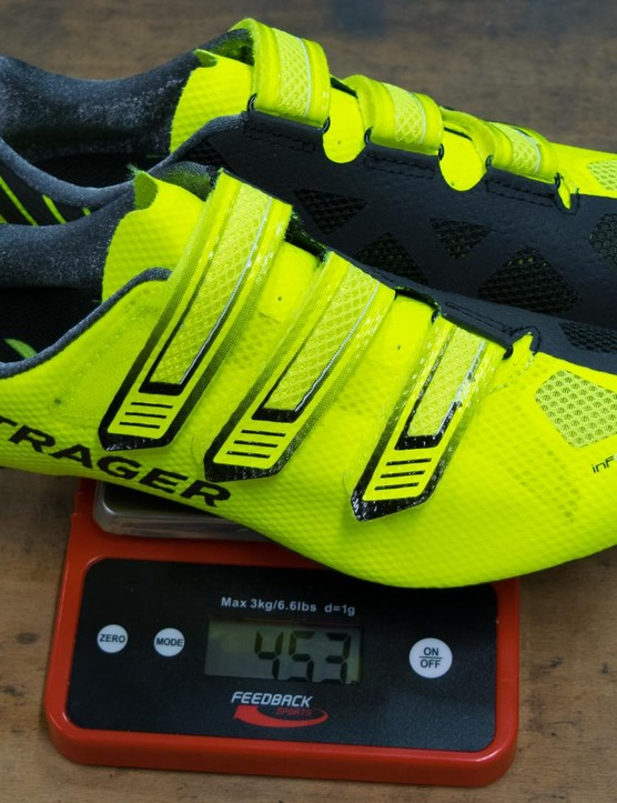 Bontrager XXX LE shoes: hi-vis is well and truly back