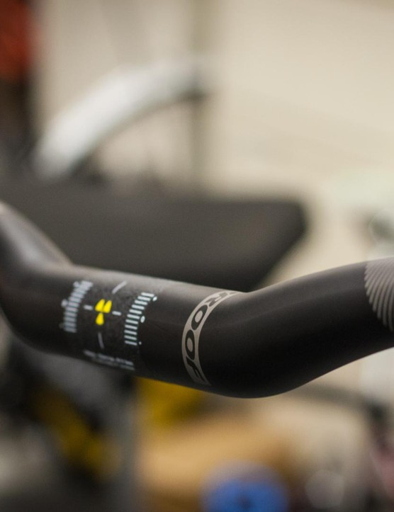 Nukeproof's Warhead Carbon riser handlebar is a well-priced option from a name we trust