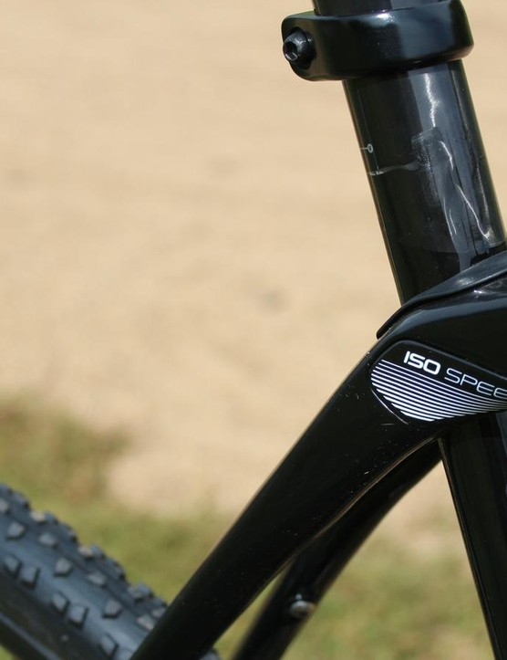 The defining feature of the Boone is this pivot that Trek calls the IsoSpeed Decoupler