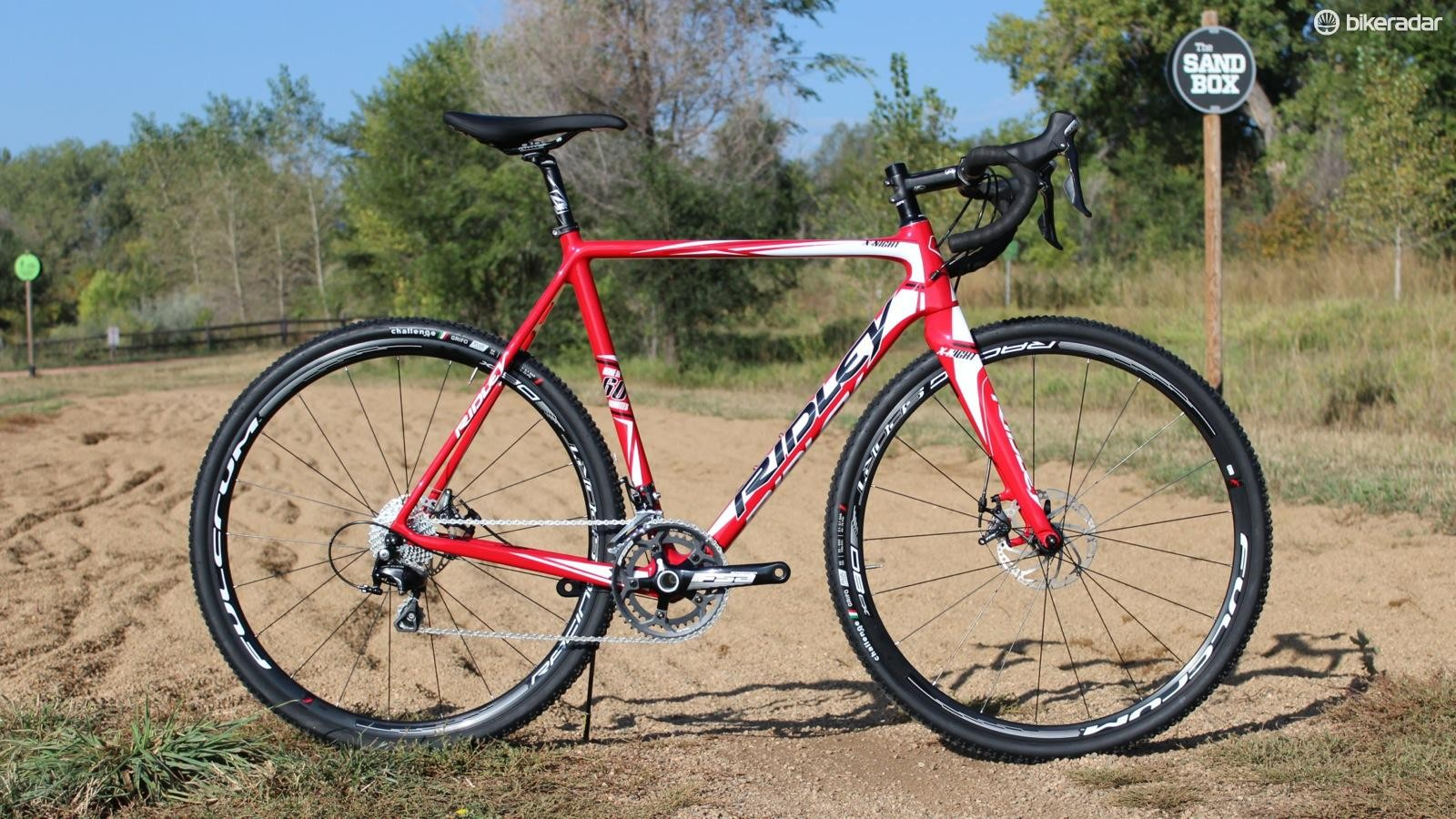 The Ridley X-Night with Shimano 105