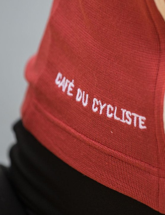 Café Du Cycliste Logos are nice and subtle