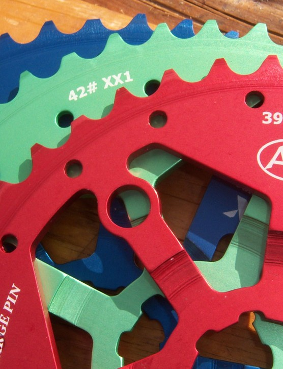 Out of Italy, Ari has offered 42 and 44t replacement big cogs for SRAM XX1/X01 cassettes for some time. The range is now joined by a 39t option