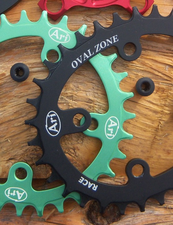 The new Oval MTB rings do appear to be quite ovalised. We're yet to use one from Ari, so cannot provide an opinion