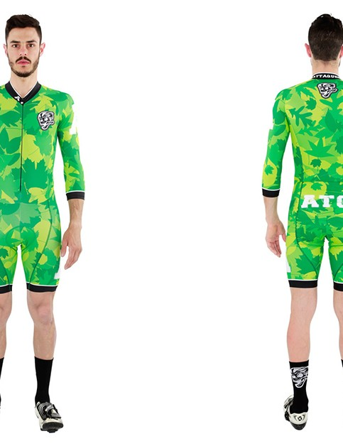 Back in 2012 Attaquer released its original leafy camo kit, and now it's back in skinsuit form