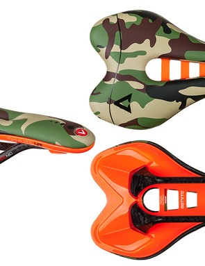So you don't lose your saddle in the grass, Astute has kindly made the base of its camo saddle flame orange