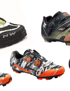 Italian outfit Northwave has a camo shoe for just about every type of mountain biker