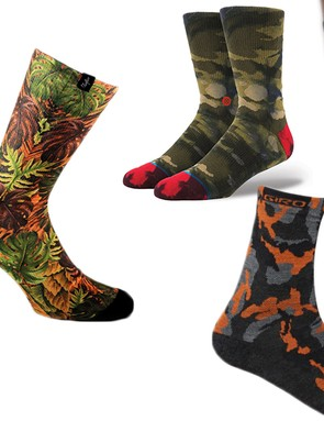 According to science, each pair of camo socks you own will increase your sock game by 10 percent