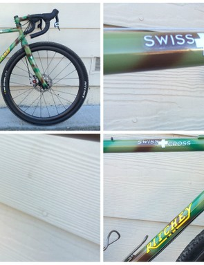 Soon you too can have a Ritchey frame in commando camo