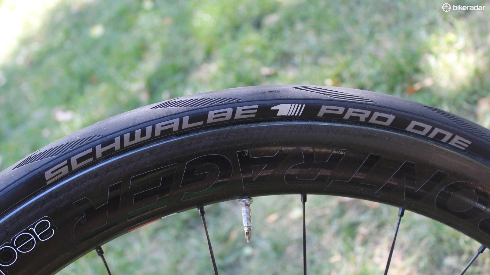 The Pro One is our favourite road tubeless tire