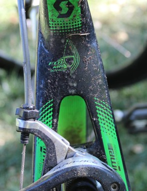 The only way I realised the Pro One had been punctured was the sealant (and subsequent gooey dirt) on my bike