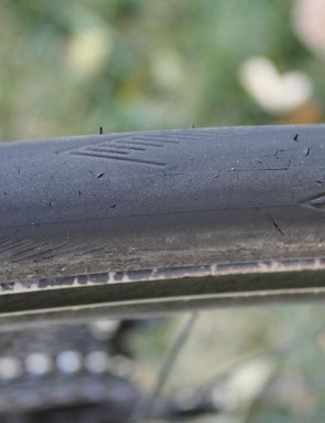 The Pro One isn't made as an ultra-durable tyre. The great feel and grip come from relatively soft rubber. This tyre has about 400 miles on it, much of that dirt
