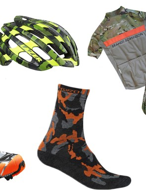 Get some camo on your bike with some of our fav bits of leafy green, multicam and realtree
