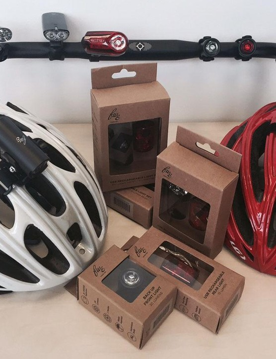 The FW Evans accessories range now takes in lights, helmets and tools