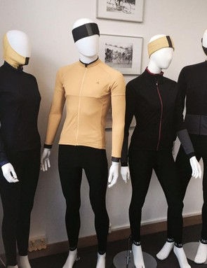 Clothing-wise, FW Evans is offering bib tights, thermals, jerseys and a softshell jacket