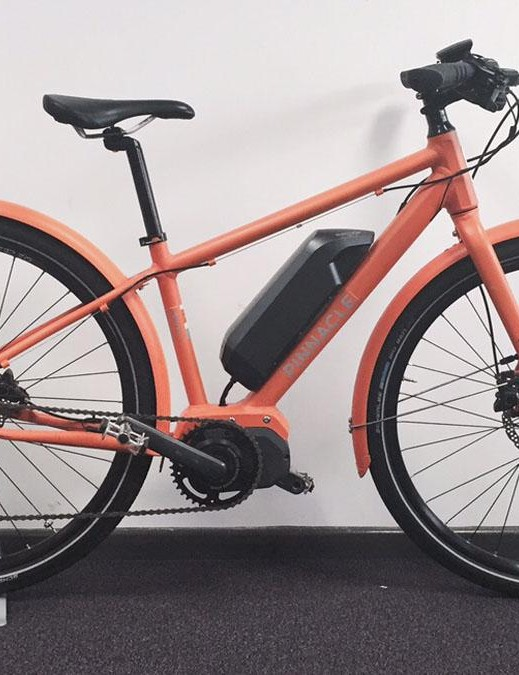 This prototype Pinnacle e-bike is due to be released for public consumption in 2016. Seems there's not much that Evans isn't turning its hand to these days