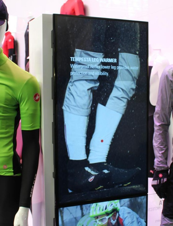 Castelli's new Perfetto Lite short sleeve jersey (l) and Tempesta jacket