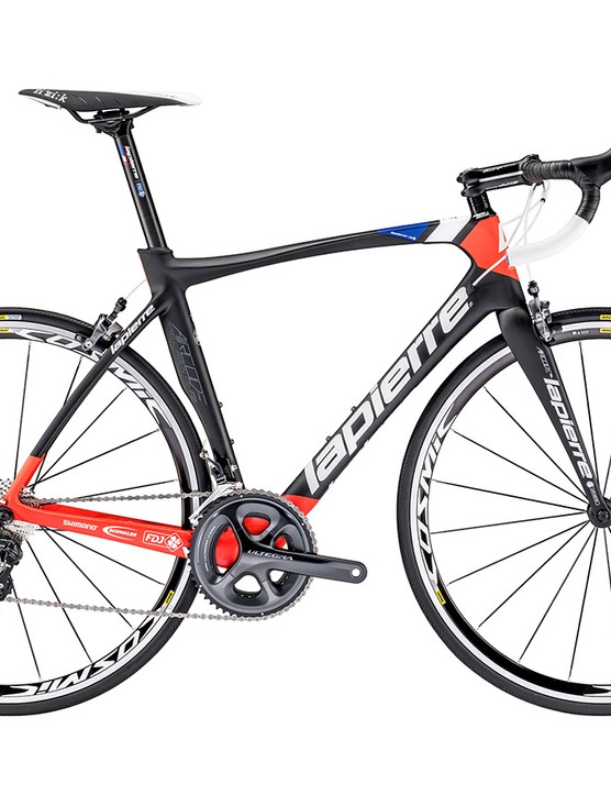 Lapierre's Aircode SL 600 FDJ CP is an eye-catching ride