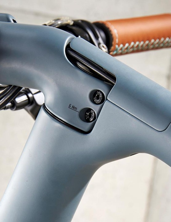 Neat and unobtrusive but the stem is one size only, limiting adjustability