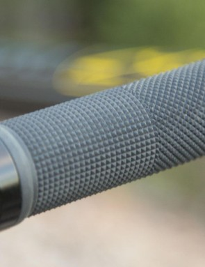 Rarely are we comfortable with the grips on cheap bikes, they're commonly too hard. Thankfully, it's cheap and easy to replace them