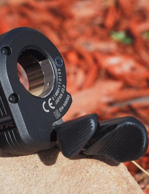 Shimano will offer XTR Di2 in 1x, 2x, and even 3x chainring configurations. Regardless, the entire system can be controlled with just a single shifter if you want to with a clever Syncro Shift sequential shifting mode