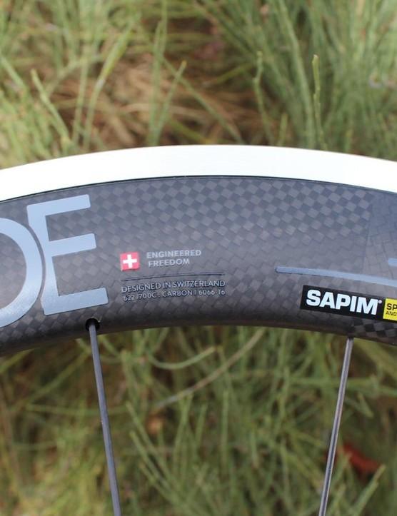 The Hardon 625 is basically a well-built alloy wheel partially enveloped in a non-structural fairing