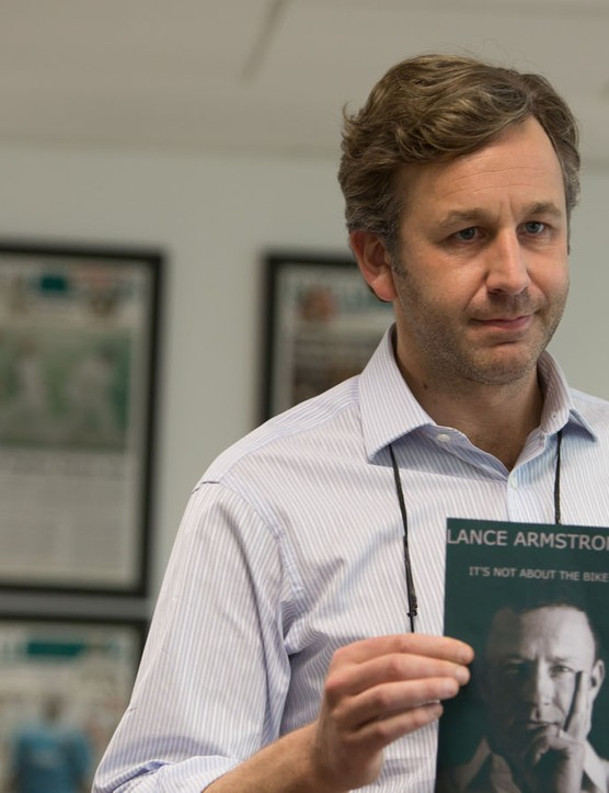 Chris O'Dowd as journo David Walsh –The Program is described as 'inspired by' rather than adapted from his book, Seven Deadly Sins