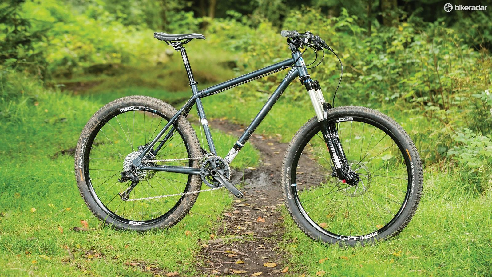 Kinesis' Decade VIRSA X5 is an appealing steel hardtail, but the kit on our build was spotty
