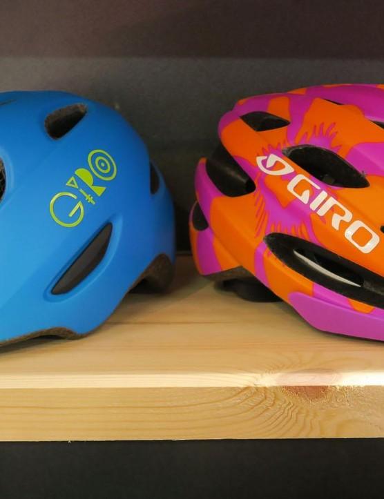 Children's helmets also get the optional MIPS treatment