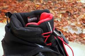 The liner of the new Bontrager OMW shoes is insulated with 3M Thinsulate and snug fleece
