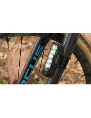 The Lezyne Strip Drive LED lights are a bit big and bulky but they're also impressively bright with good run times