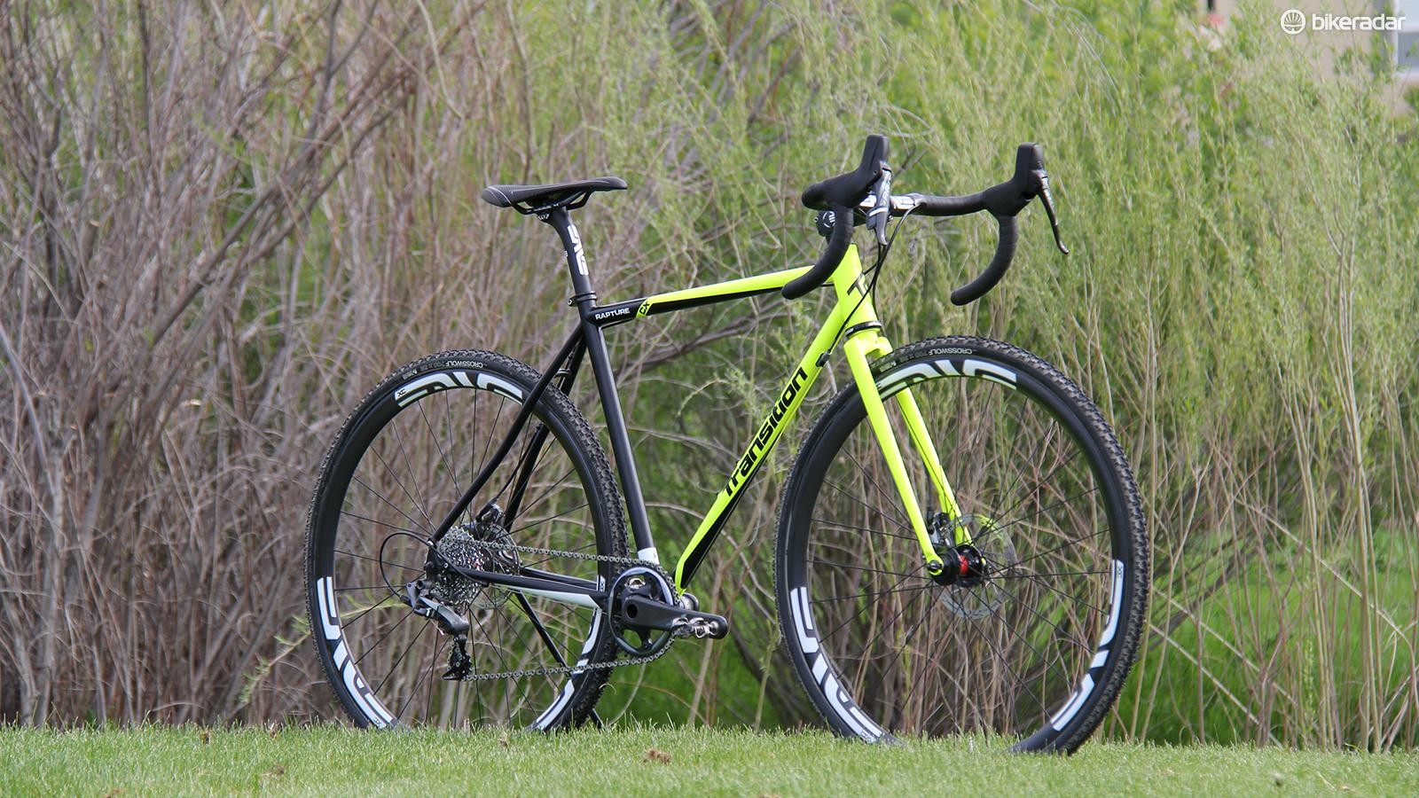The Transition Rapture is a versatile cyclocross bike that won't break the bank