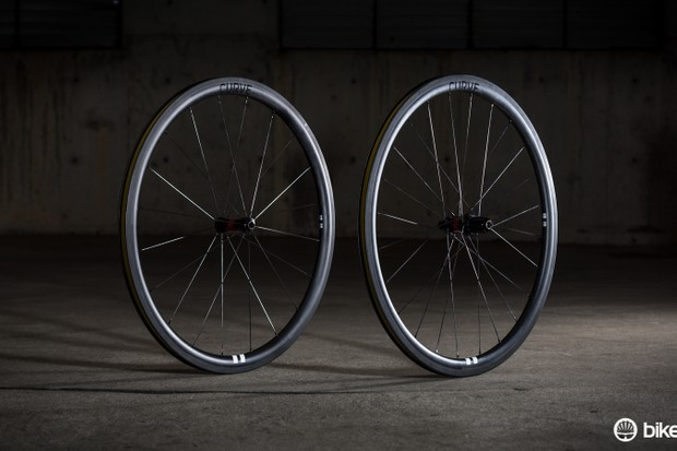 Curve's CC38s are an all around wheel suited for everything from a local crit to an undulating gran fondo