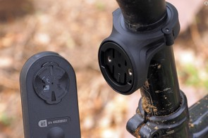 Garmin's new Varia front and rear lights use the same mounting standard as on the company's Edge computers