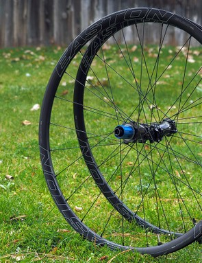 Easton's new EA90 SL Disc wheels are reasonably light and very wide but also supposedly very tough, making them almost perfectly suited for cyclocross