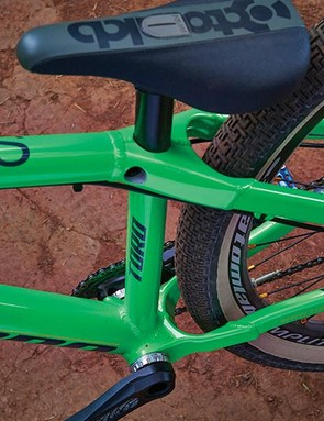 Its chunky aluminium frame is built to take some serious punishment