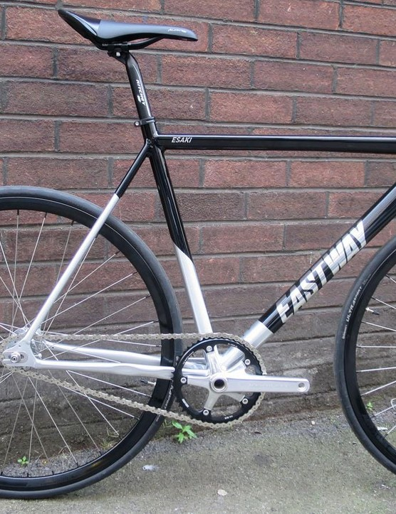 The Esaki T1 track bike certainly looks pricier than its modest £600 tag
