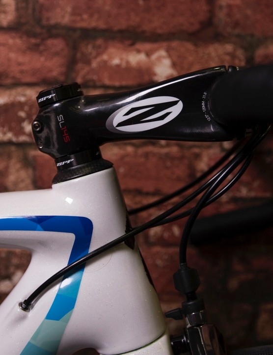 The cockpit is based on Zipp stem and bars