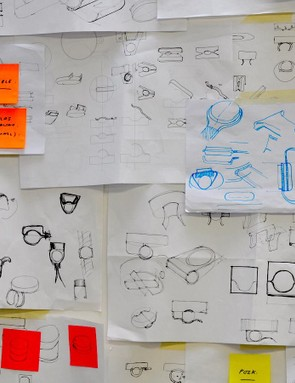 Sketches from the design process