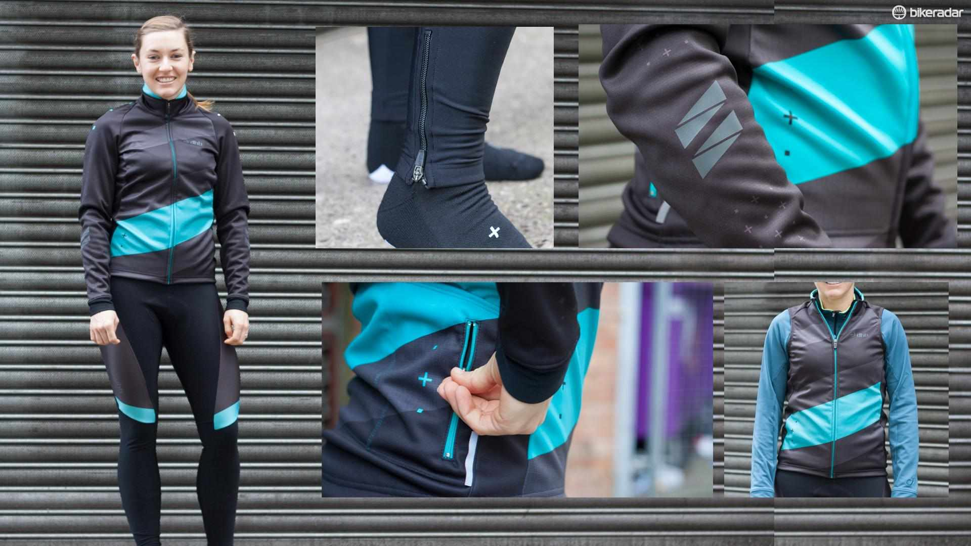 The new ASV Professional range from DHB incorporates bib tights, jerseys, a gilet and even socks