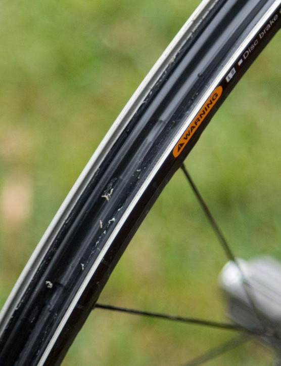 The 20mm internal rim profile means setting up tubeless is as simple as it gets