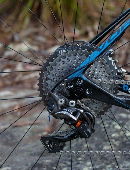 The M9000 XTR wheels are part of the newly updated M9000 Race and M9050 Di2 groupsets