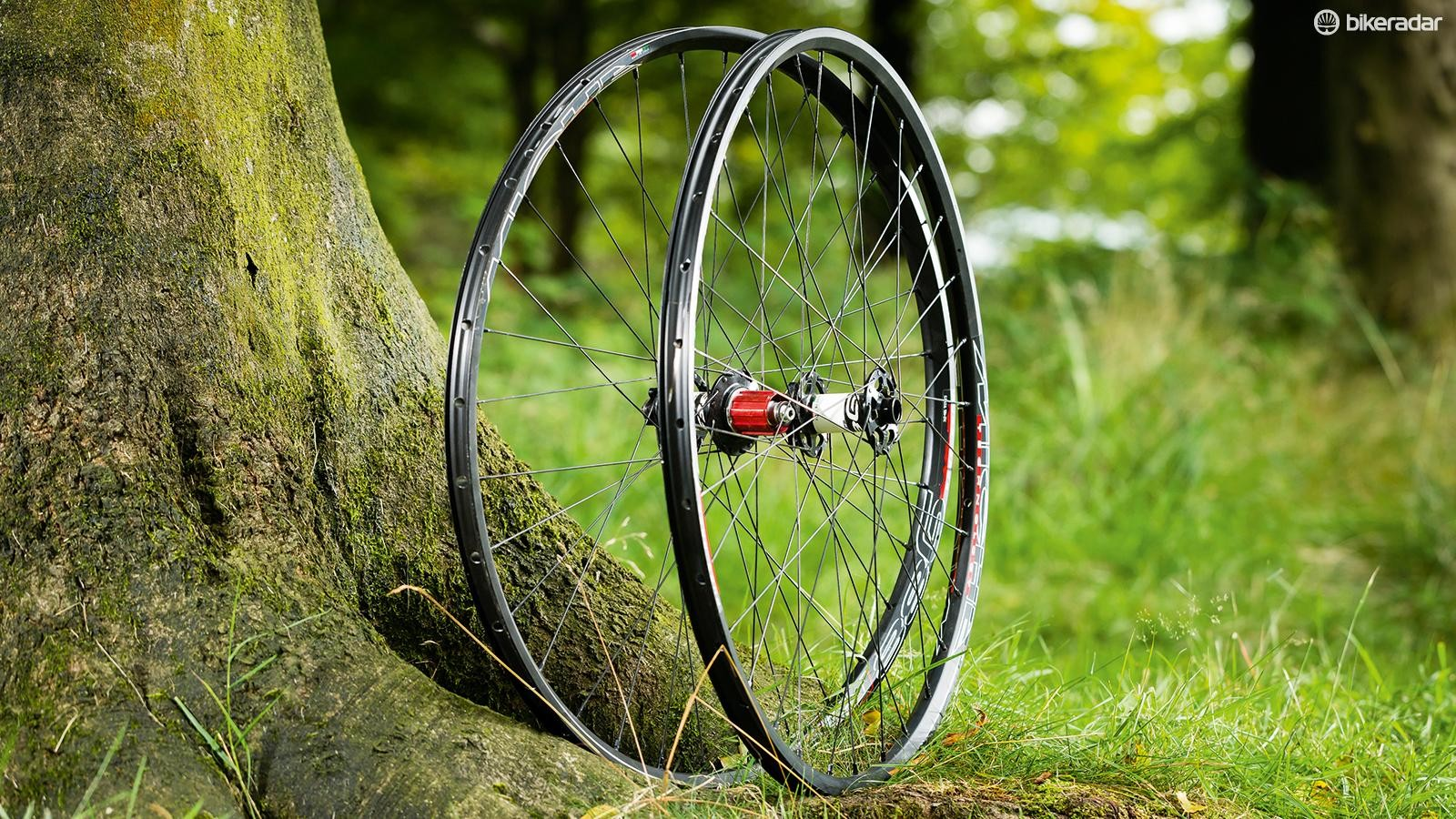 Miche's 988RR 650b wheelset are a strong choice for race-focused riders