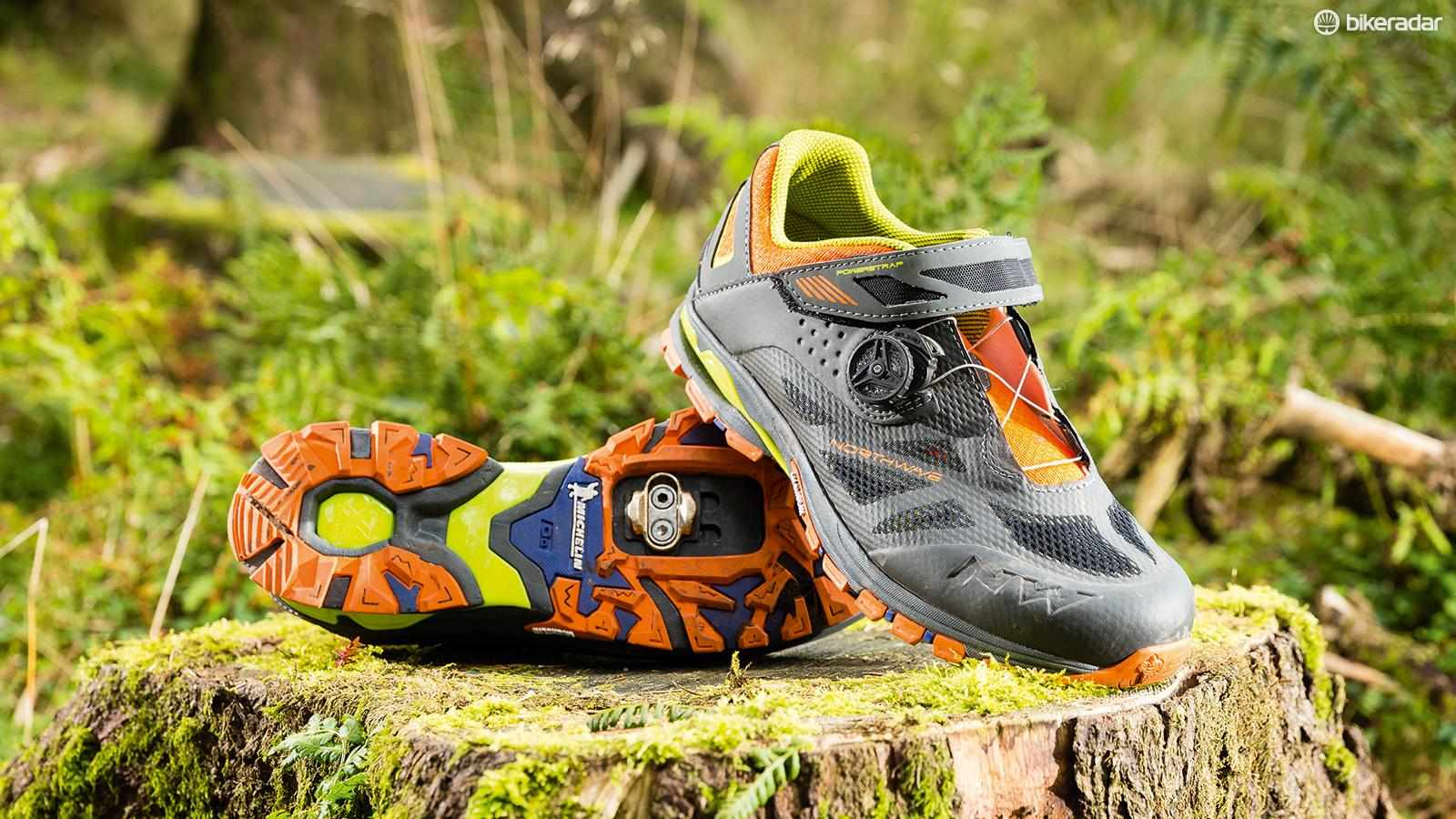 Northwave's Spider Plus 2 shoes are certainly distinctive