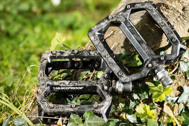Nukeproof's Horizon Pro flat pedals are tough, adjustable and spacious