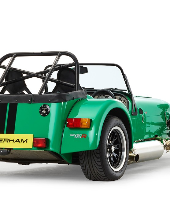 Under the skin of each Caterham Seven is a space frame chassis that could one day benefit from Reynolds butted tubing