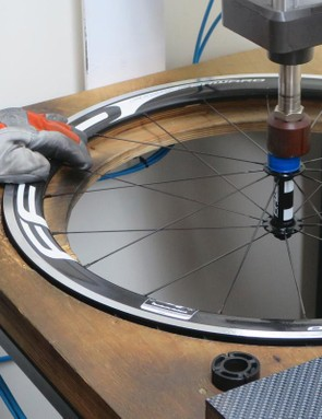 The tolerances Storcel expects from his team on spoke tensions are well beyond the accepted industry standards