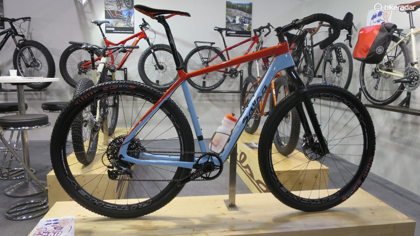 Salsa was one of the pioneers of the 'gravel' class of road bikes, but the new Cutthroat takes things a step further. In fact Salsa classes it as a drop-bar hardtail mountain bike