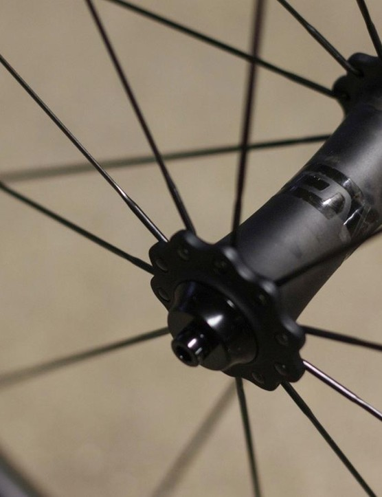 The Carbon Road Hubs save 60g compared to a pair of premium DT Swiss 180 hubs…