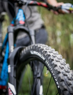 Michelin tyres get special prototype compounds with super sticky edge tread that has to be felt to be believed