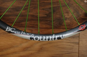 Industry Nine is rolling out the new BC 450 wheelset for 27.5+ and 29+